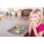 FRED Dinner Winner Fun Childrens Food Plate - Forest Friends