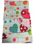 Bobble Art Muslin Wrap - Hearts