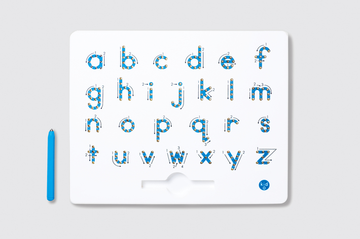 Kid-O Magnatab A-Z Lower Case Alphabet - Tablet & Magnetic Pen