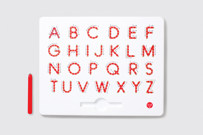 Kid-O Magnatab A-Z Upper Case Alphabet - Tablet & Magnetic Pen