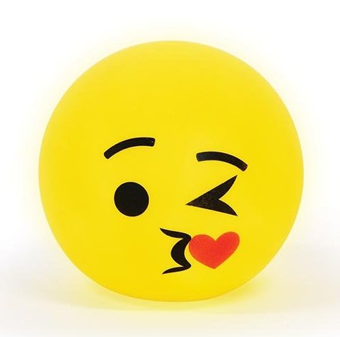 Illuminate LED Emoji Lamp - Kissing | Baby Vegas