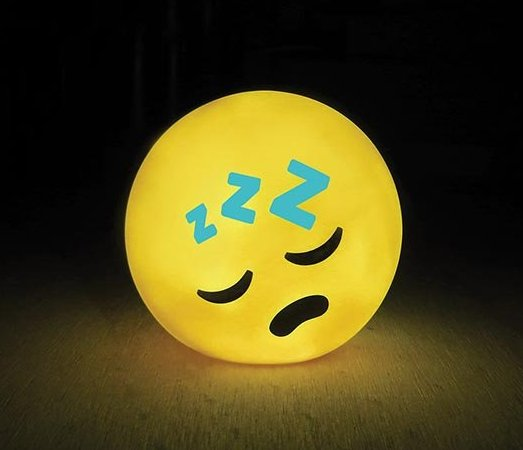 Illuminate LED Emoji Lamp - Sleeping | Baby Vegas