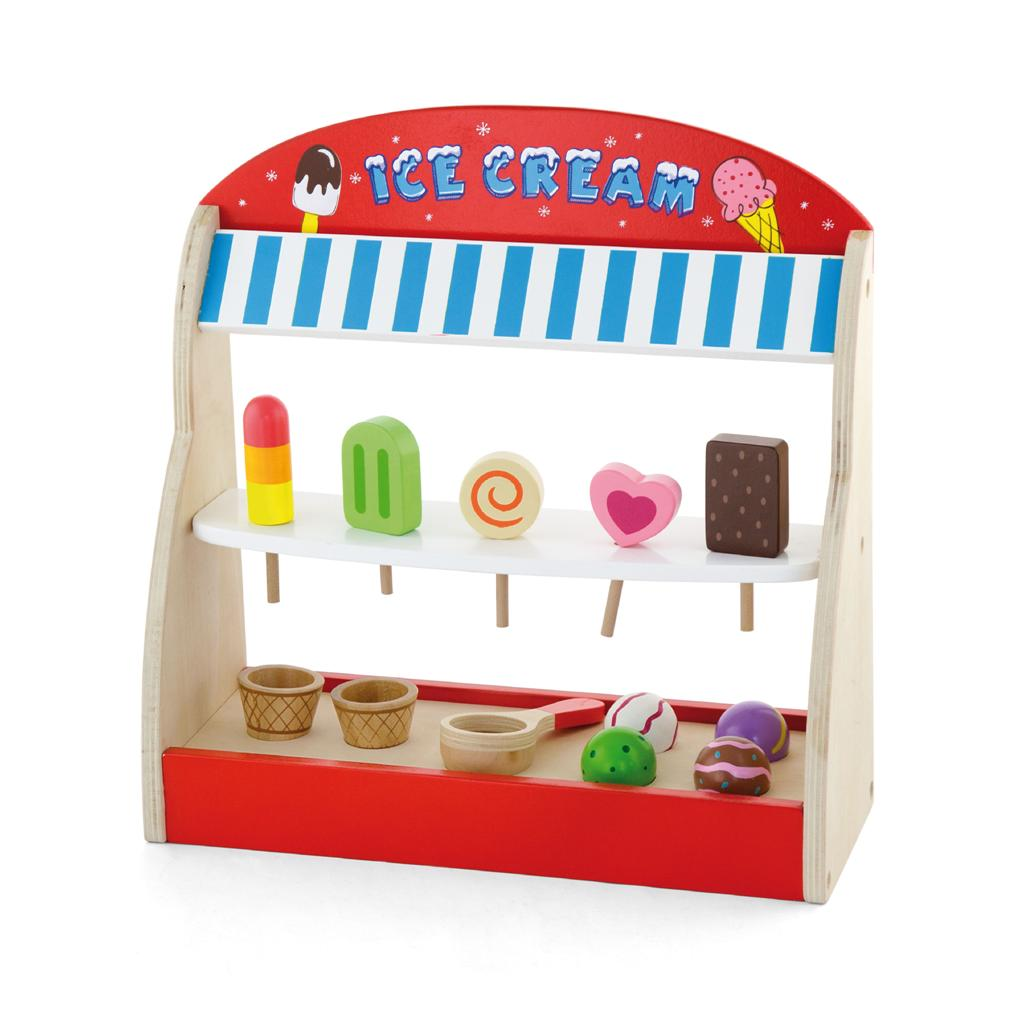 viga toys wooden ice cream shop