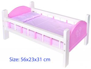 DOLL BED (PINK)