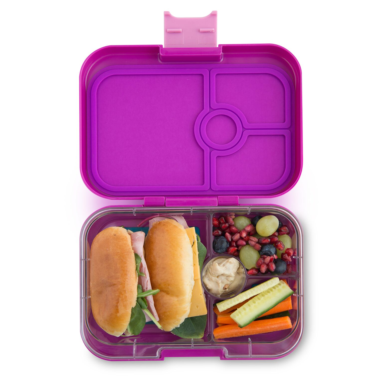 yumbox panino lunch box bijoux purple baby vegas. Black Bedroom Furniture Sets. Home Design Ideas