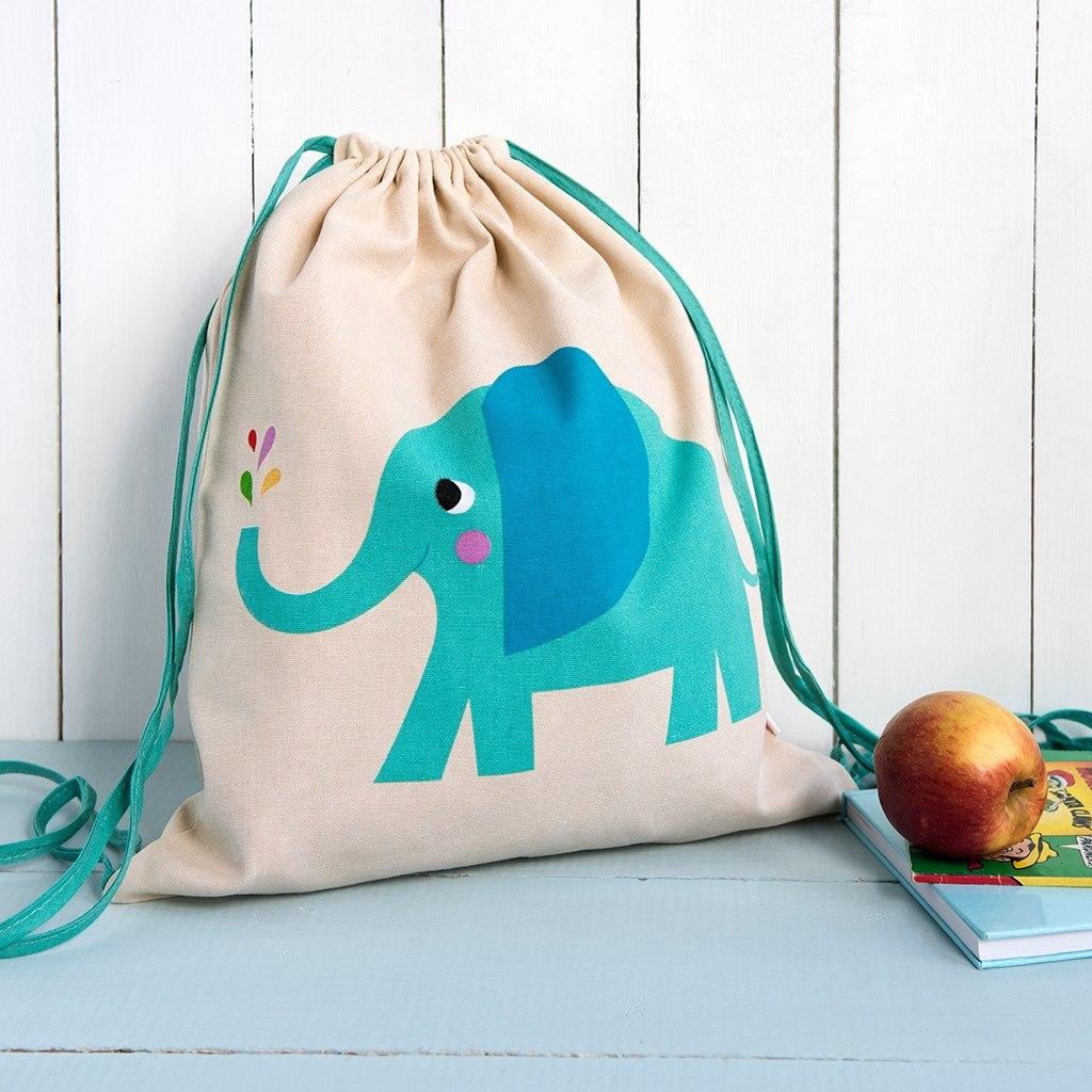 Rex Drawstring Bag Elephant Baby Vegas