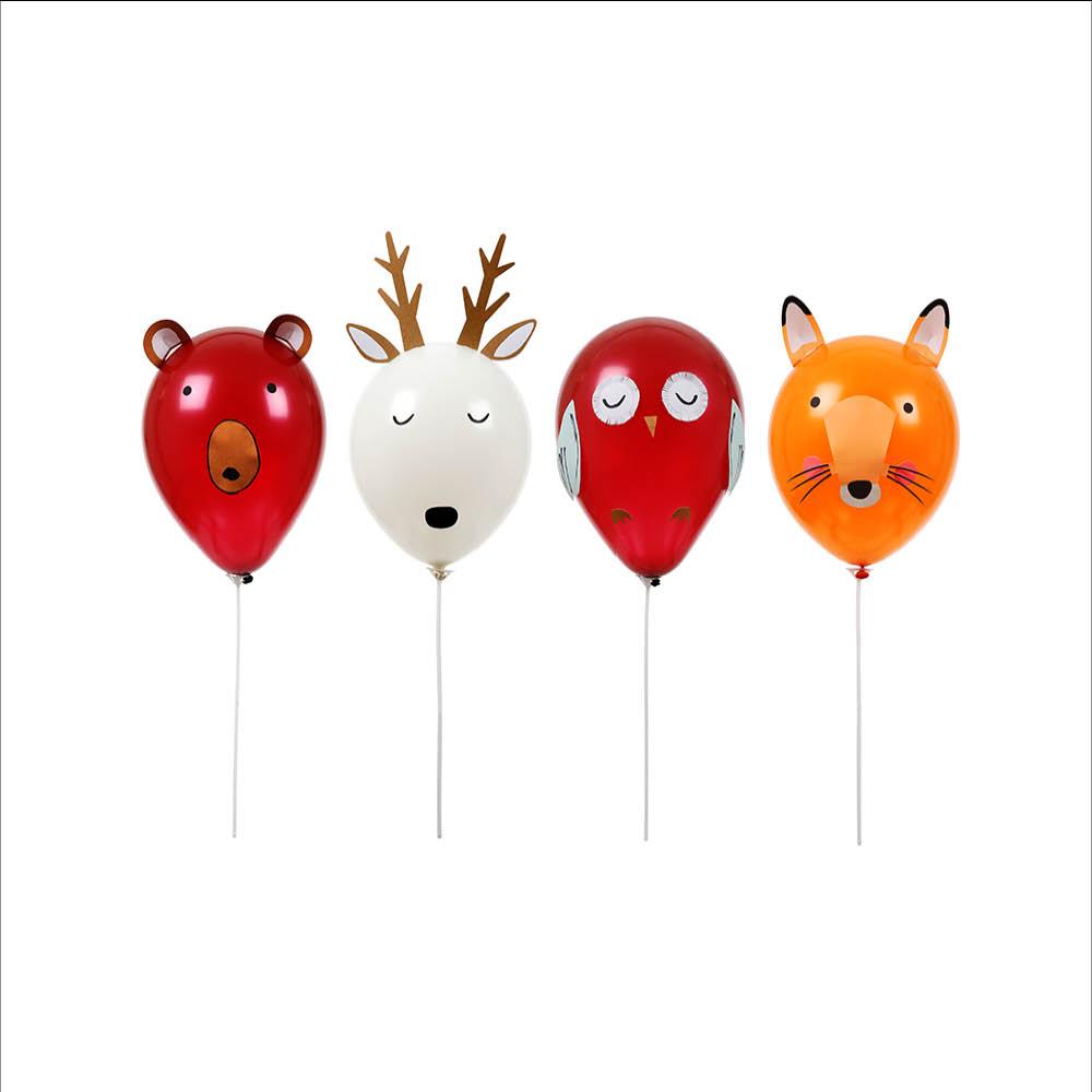 meri meri forest animals balloon kit baby vegas