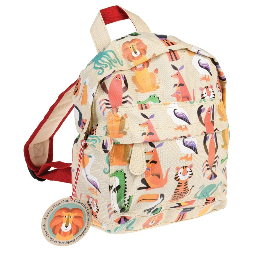 Rex Mini Toddler Backpack - Animal Creatures  ca062efa3305c