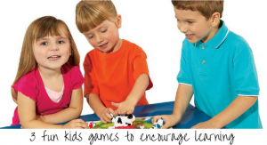 3 fun kid's games to encourage learning