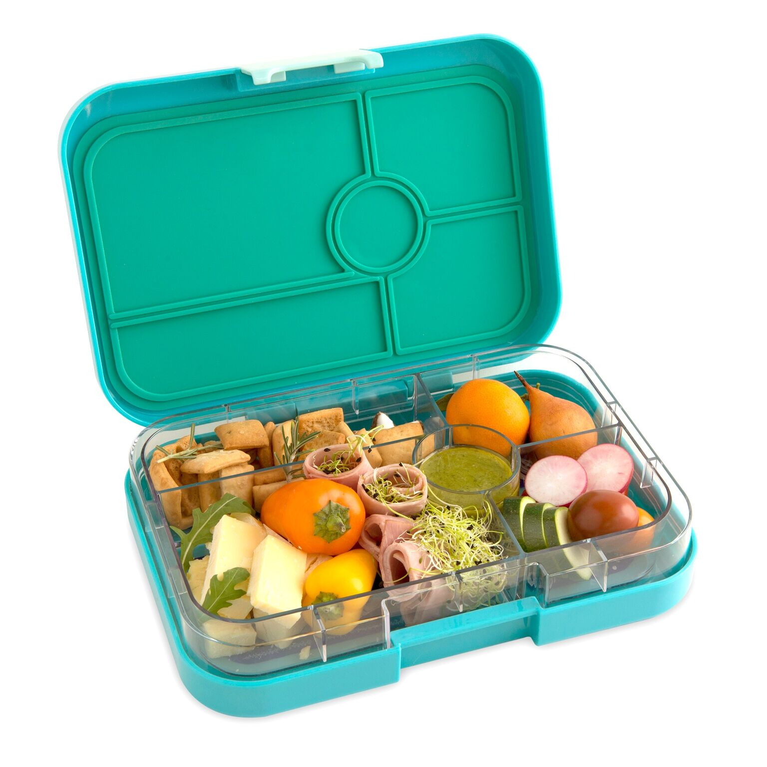 yumbox tapas lunch box 5 compartment antibes blue baby vegas. Black Bedroom Furniture Sets. Home Design Ideas