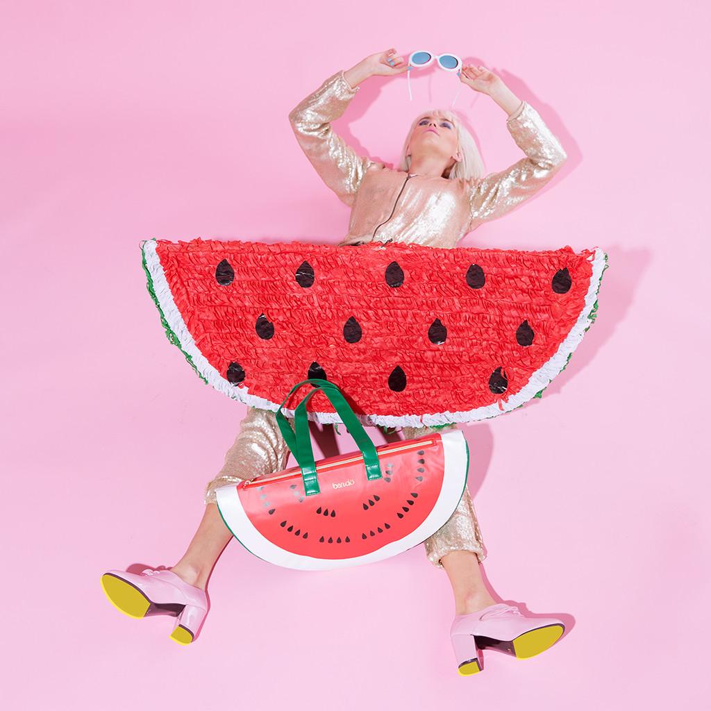 Ban Do Super Chill Insulated Cooler Bag Watermelon