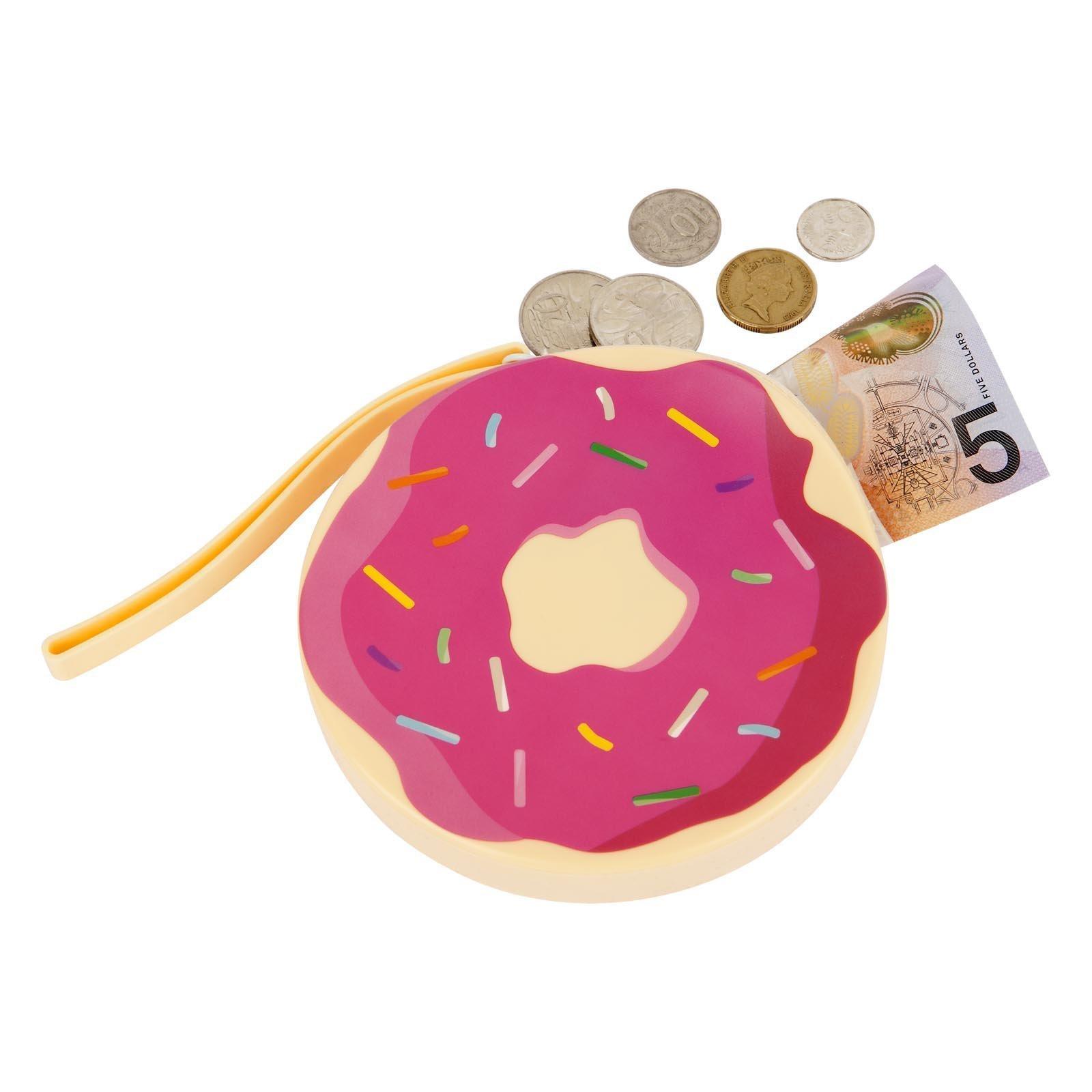 Sunnylife Silicone Coin Purse Donut Baby Vegas