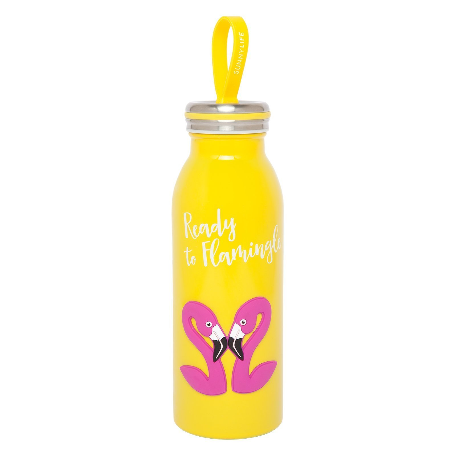 Sunnylife Stainless Steel Drink Bottle Flamingo - Flask 450ml | Baby ...