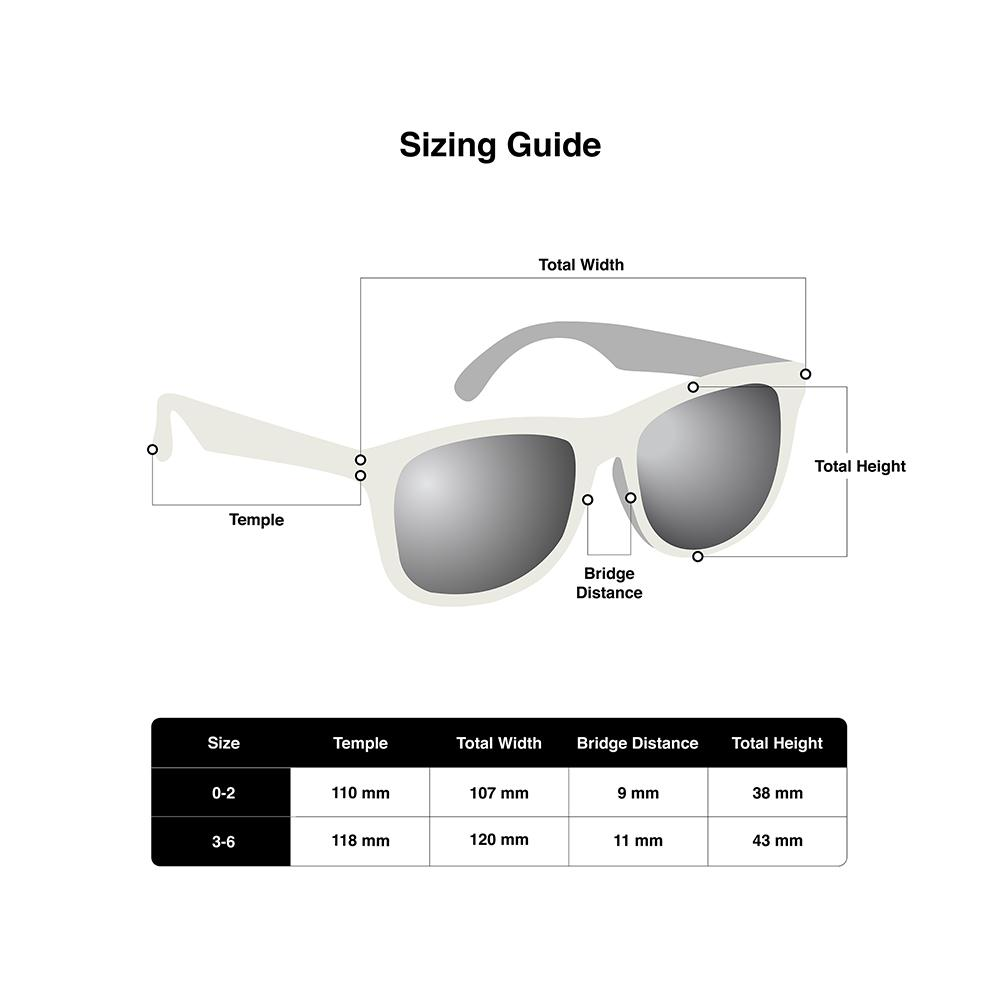 7eed30bdb06 Hipsterkid Sunglasses – Kids 3-6 years White. In stock